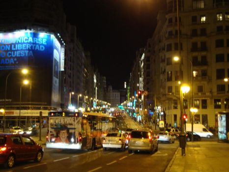 Gran Via by MariuszMz