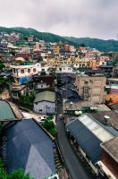 Jiufen Town in Taiwan by Galen82