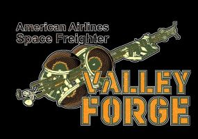 Space Freighter Valley Forge by JefferyWright