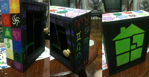 Homestuck Cabinet by speedymagnolia