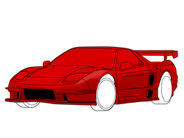 NSX Vector Day 2 W.I.P by LAWLitsAARON