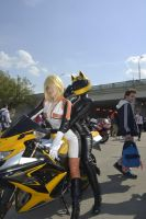Drrr!! Vorona and Celty by MayWolf23