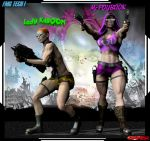 Lady KaBoom and Mz PayBack 01 by gpfer