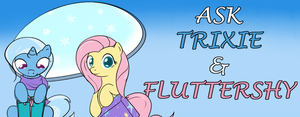 Ask Trixie and Fluttershy by TheParagon