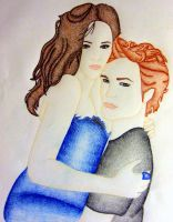Bella and Edward by LoveBurnsHigh