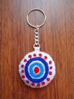 Oceanic Airlines felt keychain by anikkavlc
