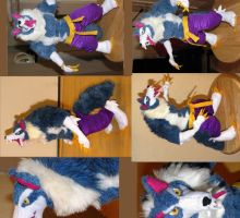Jon Talbain Darkstalkers Plush Toy by Jarahamee