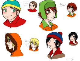 South Park- The Guys by danielly