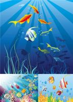 Underwater-World_vector by p30room