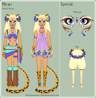 Anima Guardians - Mirari Reference Sheet by theRainbowOverlord