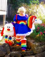 Rainbow Brite Cosplay With Twink And Starlite by Espeakus