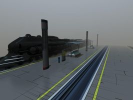 Station deck ( w.i.p / collaboration ) by eelstork