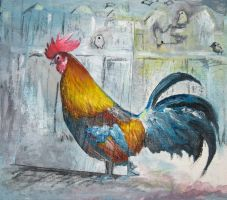The Rooster by flamingfish
