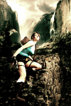 Climbing Tomb Raider by Visual-Aurelie