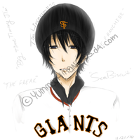 Tim Lincecum by YummeuhMangoes