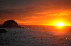 Sunset Over Sutro by JimmyDanzig