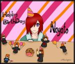 Happy BirthDay Nagato by xNeonSaphire