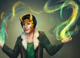 Agent of Asgard Loki by starthief-alice