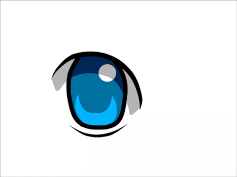 Animation Practice (eye) by deformeddelights