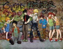 Ouran High School Hipster Club by FeatherFactory