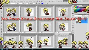 Hetalia Shimeji: Revolutionary War England by TionneDawnstar