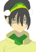 Avatar:Legend of Aang -Toph by devlin2010