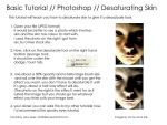 Tutorial - Desaturate Skin by larafairie-stock
