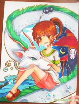 +Spirited Away+ by larienne