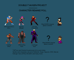 DTMP - Characters Remake Poll by TuffTony