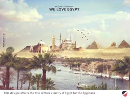 We Love Egypt by HOSSAMH