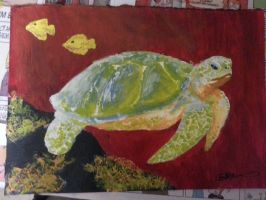 Turtle by icefrogprincess3