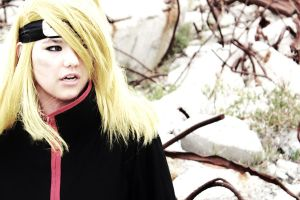 Deidara cosplay by Jackelfoot