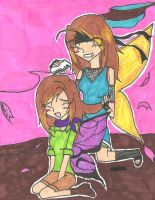 fairy and butterly sisters by rumiko18