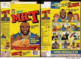 Mr T Cereal by Mikeg2007