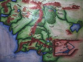 Middle Earth by musicnotes77