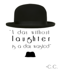 charlie chaplin quote tattoo by joeyhawk11 on deviantart. Black Bedroom Furniture Sets. Home Design Ideas