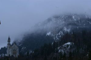 Castle in the hills by Callsign-Shutter