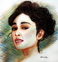 Golshifteh Farahani Sketch2 by amoxes