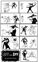 Spy vs Spy: Bloodless revenge by Little-Blind-Chicken