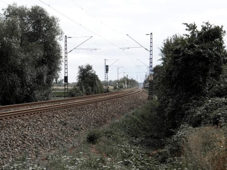Train Track by Burnover