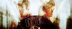 The Day of the Doctor signature by wherestherain