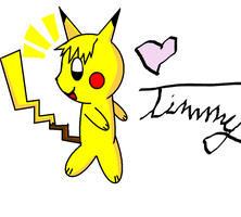 Timmy The Pikachu by Pixel-777