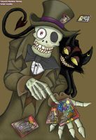 Mad Hatter and Cheshire Cat by Shadow-Nexus