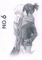 No.6- Nezumi and Shion by Jennyjzlei