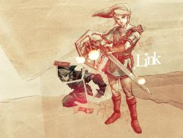 Link - Zelda Wallpaper by expect-rush