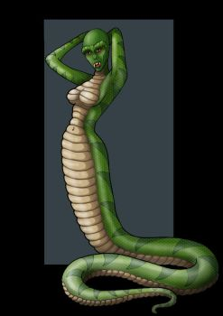 snake woman  -  commission by nightwing1975