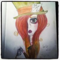 The Mad Hattress :) by RosesPaintedBlack
