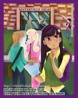 High School is Magic Chapter One Cover by PlaidRed