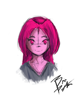 Rose - Sketch by ChaserTech