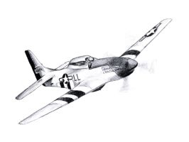 P-51 Mustang by FlashElectron